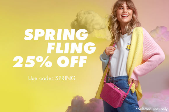 EARLY ACCESS | 25% OFF SPRING MUST-HAVES