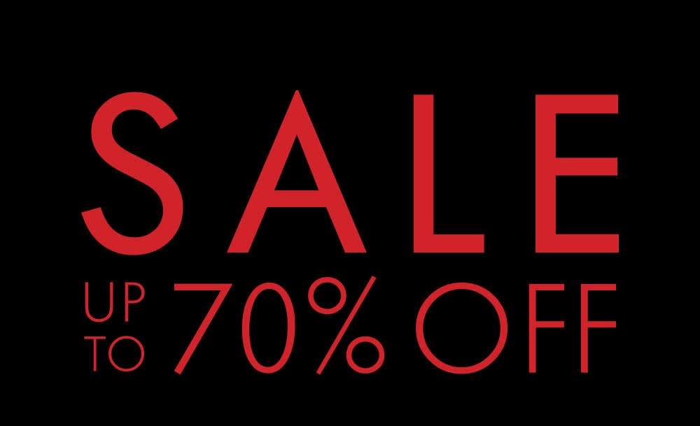 SALEUP TO 70% OFF