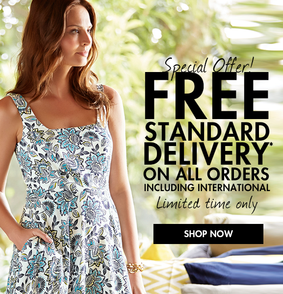 Special offer! FREE standard delivery on all orders, including international! Shop Now