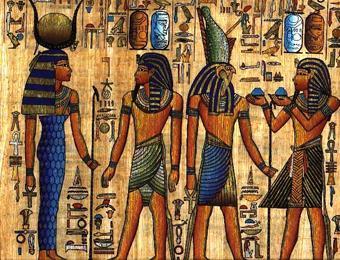 Забытые следы русов в Древнем Египте