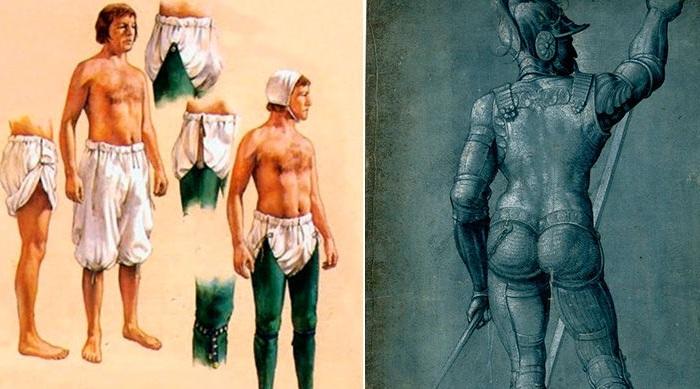 «Штаны» рыцаря.