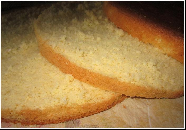 высокий чудо бисквит фото рецепт