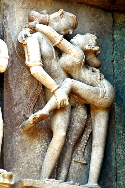 эротика в храмах древней индии