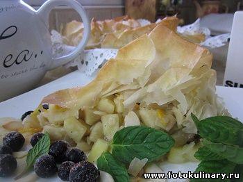 Гасконский яблочный пирог Вуаль невесты